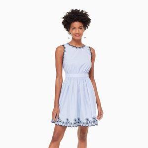 Kate Spade Daisy Embroidered Mini Dress